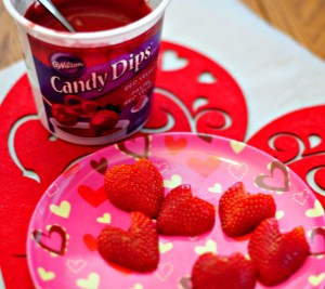 Dip Strawberry Hearts